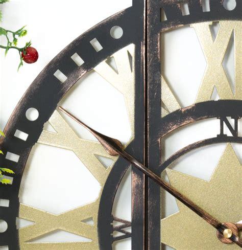 orologi da giardino orologio da giardino in tre sezioni in metallo 40cm
