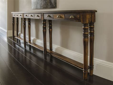 Thin Console Hallway Tables Bespoke Furniture For Other Rooms Yealm Kitchens