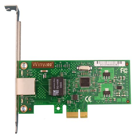 Ic Bootrom Lan Card Pxe For Diskless winyao wy574t pci e x1 gigabit server adapter