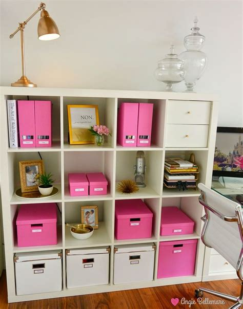 ikea organization 25 best ideas about pink gold office on pinterest gold