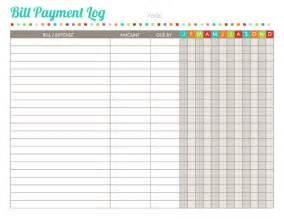 Bill Budget Template Home Finance Printables The Harmonized House Project