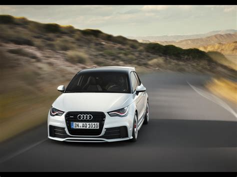 Audi A1 Wallpaper by 2012 Audi A1 Quattro Front Speed Wallpapers 2012 Audi A1