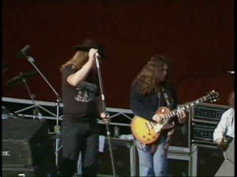 lynyrd skynyrd knebworth youtube lynyrd skynyrd travellin man 1976 youtube