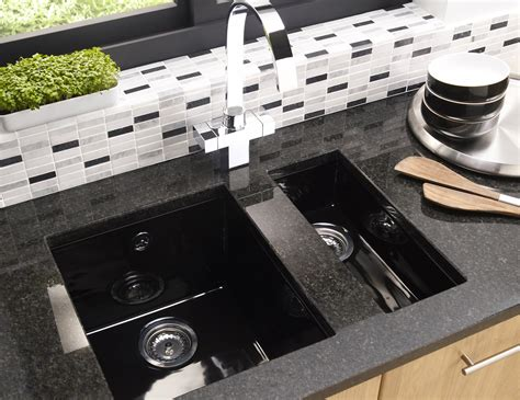 Undermount Ceramic Kitchen Sinks Astracast Onyx 1 0 Bowl Ceramic Inset Or Undermount Kitchen Sink Ox10whhomesk