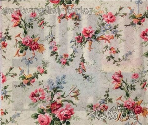wallpaper motif bunga vintage jual gorden motif bunga shabby chic kain ashley arta