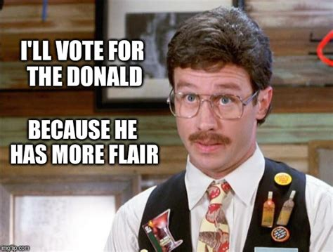 Flair Office Space by Donald Has More Than The Minimum Flair Imgflip