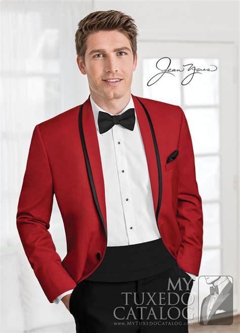 red calypso tuxedo tuxedos suits mytuxedocatalog com