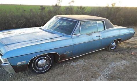 1968 impala custom coupe 1 800 obo 1968 chevrolet impala custom coupe