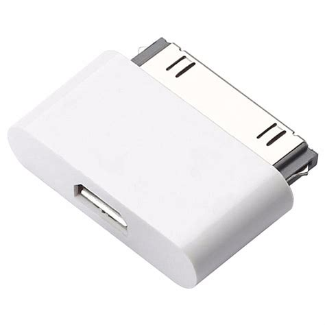 Adapter Charger Usb 30 Pin Bloulounge v8 micro 2 0 usb to 30 pin charging adapter converter micro usb cabo charger adapter for