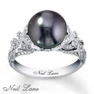 black pearl wedding rings black pearl rings on tahitian pearls