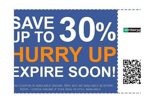 enterprise car rental coupon codes uk