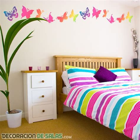 ideas for decorating bedroom walls 161 mariposas para tus paredes