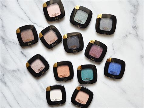 Eyeshadow Loreal l oreal colour riche monos eye shadows review swatches
