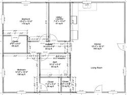 House Plans With Basement 24 X 44 by Carriage House Plans Pole Barn House Plans
