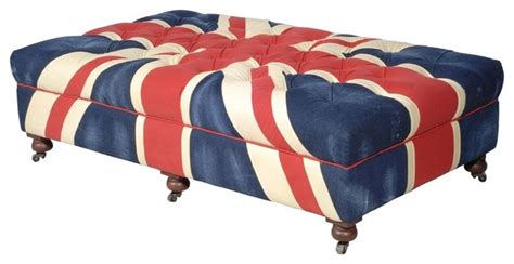 union jack ottoman bensington union jack ottoman contemporary footstools