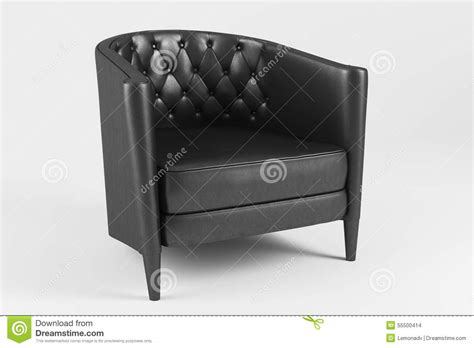 classic leather armchair classic leather armchair stock illustration image 55500414