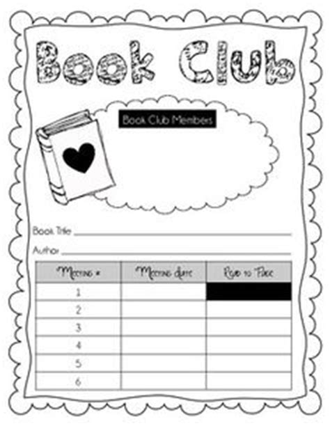 book club agenda template 1000 images about 2014 summer reading club on