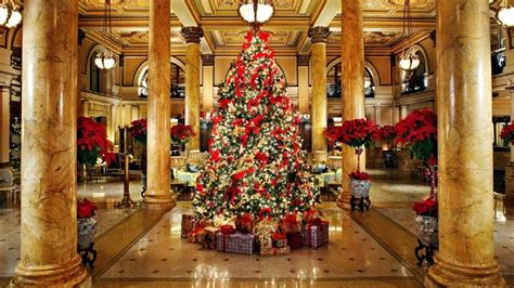 top ten hotel lobby christmas decorations 6 hotels with decorations that are worth a visit dc refined