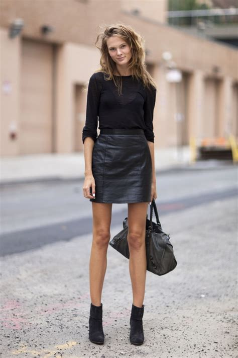 what to wear with a leather skirt our style guide