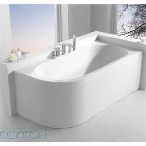 status luxury designer carron 1600 acrylic bath shaped