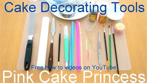cake decorating tools       decorate cupcakes tutorials youtube