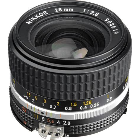 Lens Af 28 Mm F 2 8 D nikon nikkor 28mm f 2 8 lens 1420 b h photo