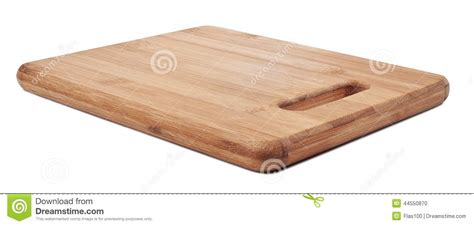 cooking board brown cutting bamboo board used for cooking stock photo