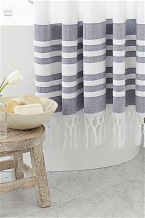 turkish shower curtain 1000 ideas about striped shower curtains on pinterest