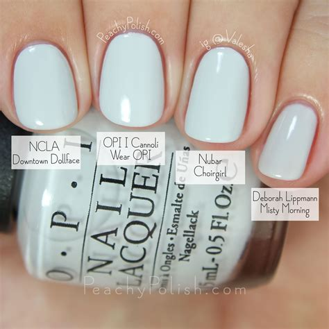 Opi Gel Color I Cannoli Wear Opi opi fall 2015 venice collection comparisons peachy