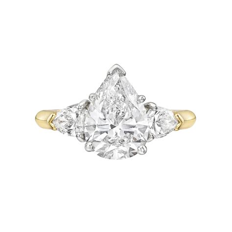 estate betteridge collection 2 14 carat pear shaped