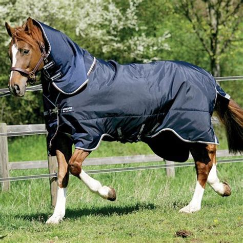 rambo rug liner rambo duo turnout rug with 300g liner navy blue brown redpost equestrian