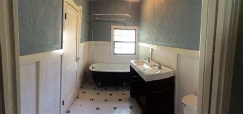 1940 bathroom remodel 1940s bathroom remodel chalkboard painted claw foot tub