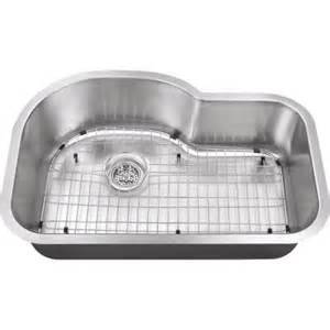 Home Depot Stainless Steel Kitchen Sinks Schon All In One Undermount Stainless Steel 30x19x9 In 0
