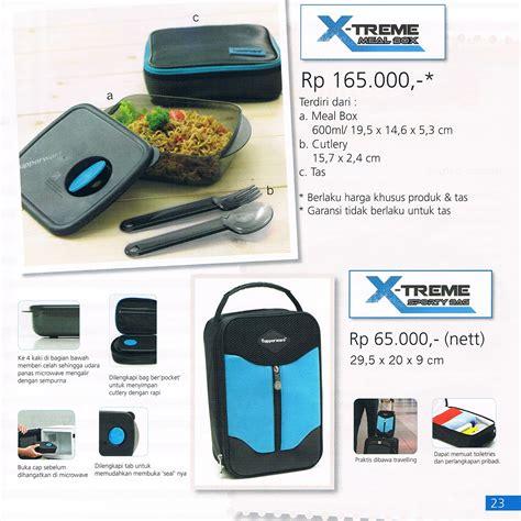Tupperware Xtreme Meal Box tupperware surabaya diskon 087854807222 katalog
