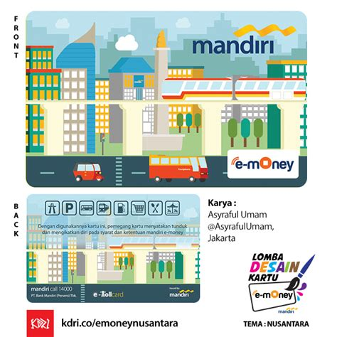 Emoney Mandiri Edisi Nusantara Etoll jakarta mandiri hellomotion