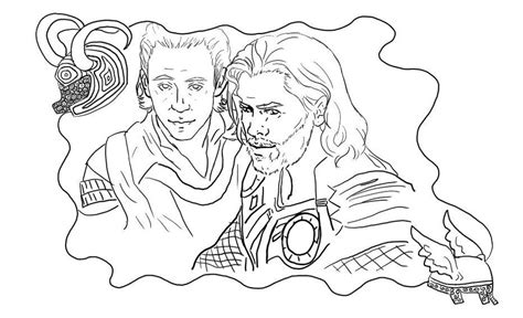 lego loki coloring pages thor and loki coloring page by stacherabbit on deviantart