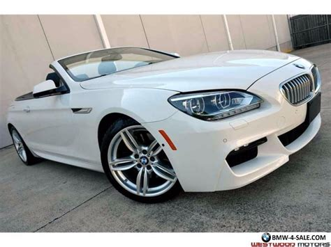 Bmw 650i Convertible For Sale by 2014 Bmw 6 Series 650i Convertible M Sport Edition