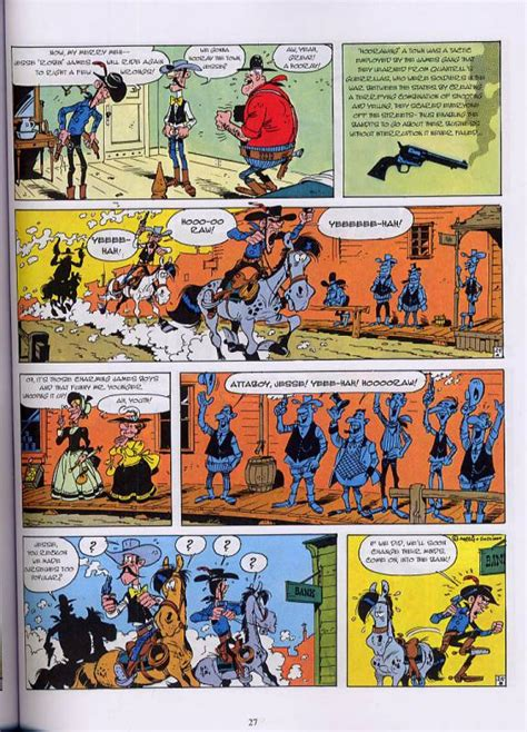 The Singing Wire Lucky Luke morris ren 233 goscinny western bdnet