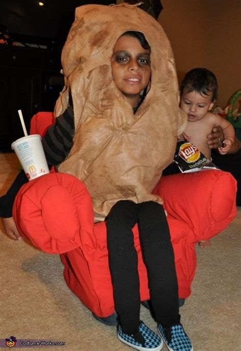 couch potato costume the couch potato costume halloween costumes the o jays