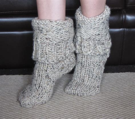 chunky slipper socks chunky wool slipper socks size medium us 7 8
