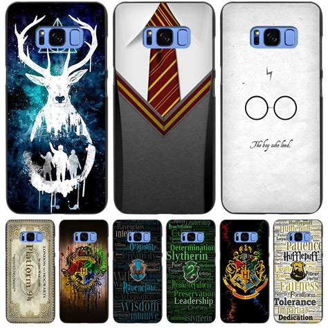 Harry Potter For Samsung S3 S4 S5 S6 S7 S Series harry potter gryffindor tie black cover shell coque for samsung galaxy s3 s4 s5 mini s6 s7