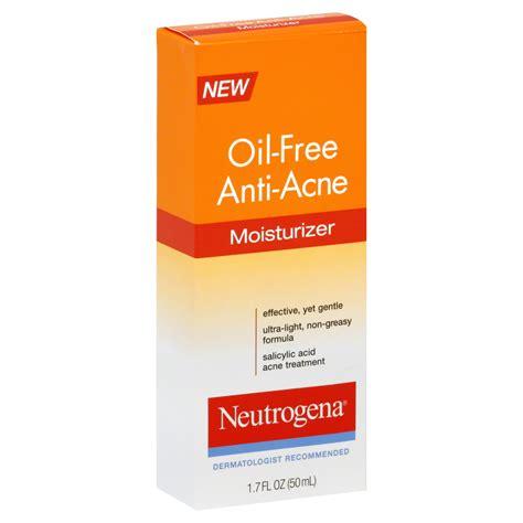 Acl Anti Comedogenic Lotion neutrogena moisturizer free anti acne 1 7 fl oz 50 ml