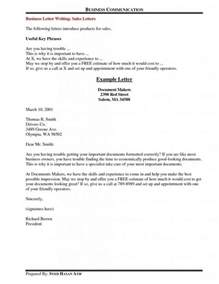 Closing For Business Letter In Business Letter Closing Phrases The Letter Sle
