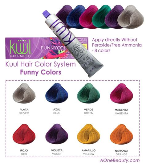 color system sale kuul hair color system colors apply