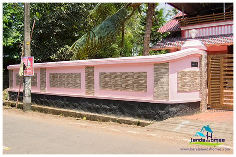 design a wall for free gate and compound walls designs keralareal estate kerala