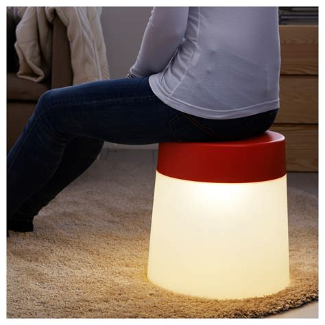 Ps 2014 Led Stool L by Ps 2014 Led Stool L In Outdoor White