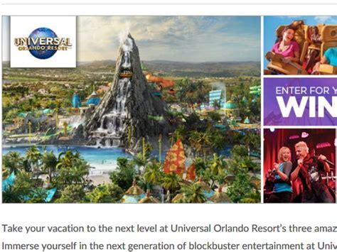 Universal Studios Orlando Sweepstakes - bravo universal orlando volcano bay sweepstakes