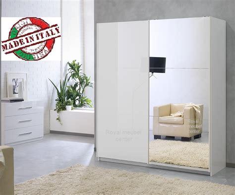 lade specchio kledingkast met drie deurs kledingkast met lades strak
