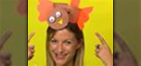 How To Make A Turkey Out Of Construction Paper - how to craft a turkey hat for thanksgiving 171 holidays