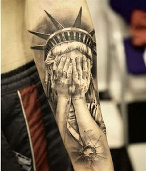 patriotic tattoos that celebrate usa body art diary